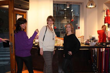 Til slutt tok vi tre som er mest i butikken på oss hver vår Petronella. Jeg tror nok kanskje at dette er en av våre definitive favoritter for høsten.