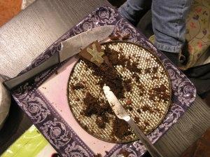 Maries gode sjokoladekake med seigemenn på