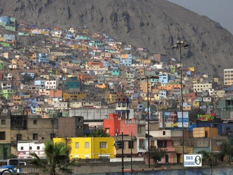 I dette området av Lima bor strikkerne som lager The Alpaca Experience