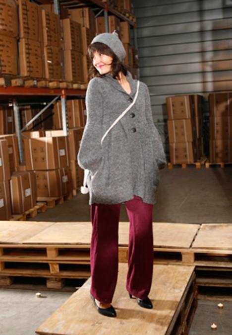 Kaja Marie med jakken Frida og Linn-bukser