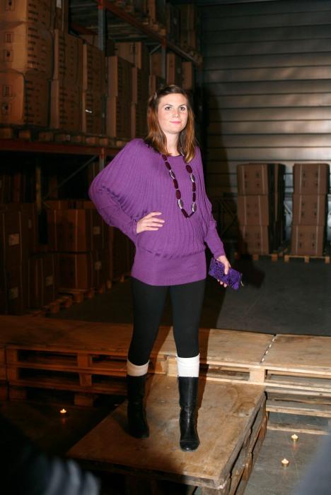 Linn i den flotte Petronella-genseren