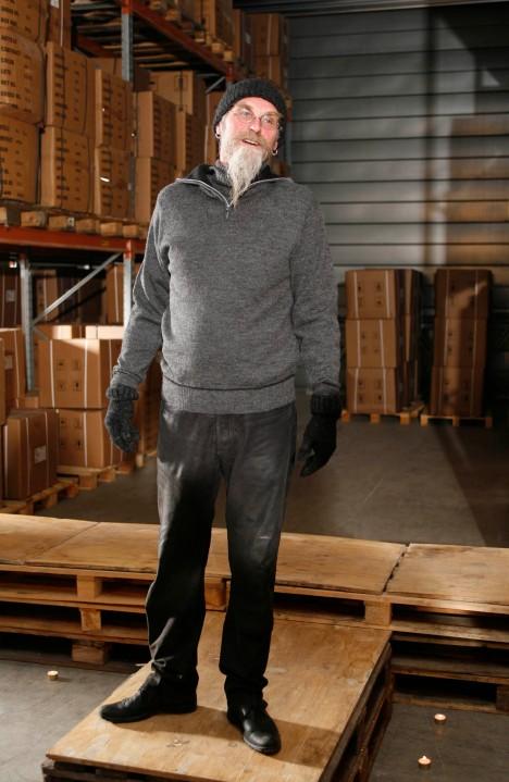 Per med genseren Tørrdal