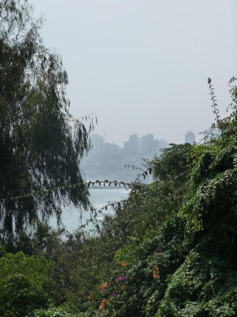 Utsikt mot Lima fra Barranco