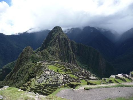 Det typiske turistbildet fra Machu Picchu.