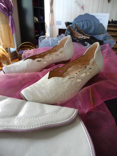 Hvite sko
