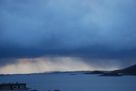 Regnvær i horisonten
