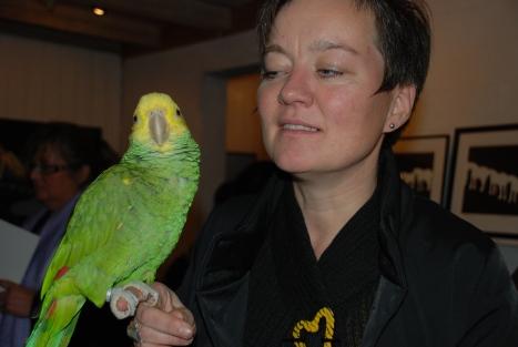 Siri og papegøyen